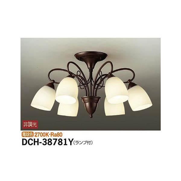 4955620582220 大光電機:シャンデリア DCH-38781Y