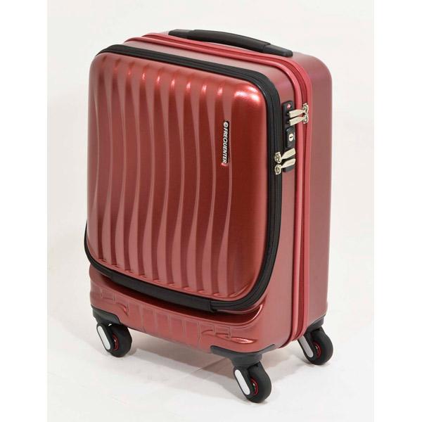 エンドー鞄:FREQUENTER CLAM A ストッパー付き4輪キャリー(前開き) 46cm ワイン 1-216 ワイン 機内持ち込みサイズ 人気 おすすめ 女性 おしゃれ かわいい メンズ