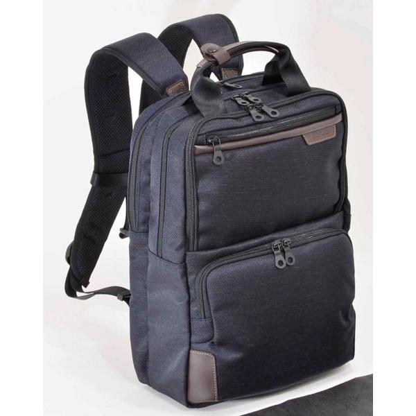 エンドー鞄:NEOPRO JUSTARC リュック(Wマチ) コン 7-141 コン