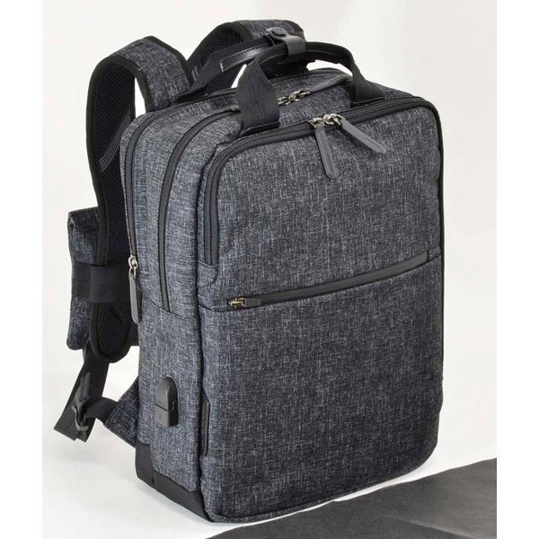 エンドー鞄:NEOPRO Connect BackPack 杢調クロ 2-770 杢調クロ