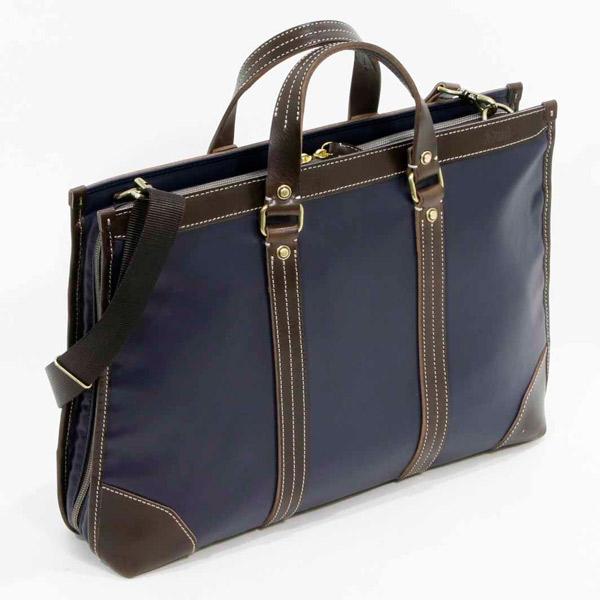エンドー鞄:Regale 三方開きブリーフ ブラウン 7-041 ブラウン