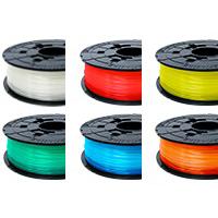 XYZプリンティング:リフィル式 PLA クリアカラー 6色セット RFPLBXJPZ5K