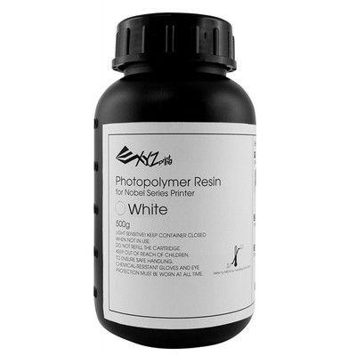 XYZプリンティング:ノーベル専用 光硬化性樹脂 カラー2セット 同色4本セット ホワイト(500g×4本) RUGNRXJPZXH