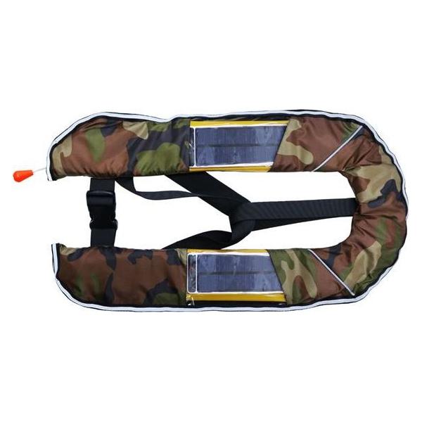 DABADA(ダバダ):LED付きライフジャケット ベスト自動 迷彩A led-jacket-auto