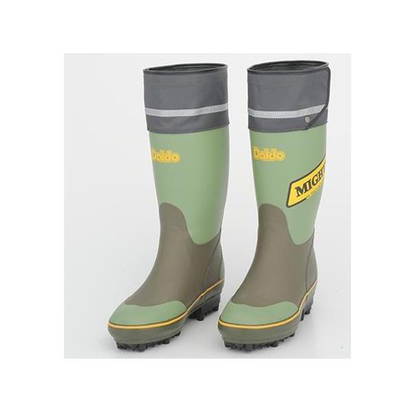 大同石油:マイティブーツNSワイド(Lサイズ:26cm) #20A 工場 現場 作業靴 長靴 防寒 軽量 日本製