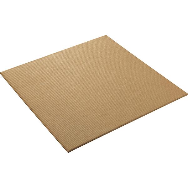 大建工業:ここち和座 清流 置き敷き畳21小麦色 (3枚入) YQ5821-3 ダイケン 正方形