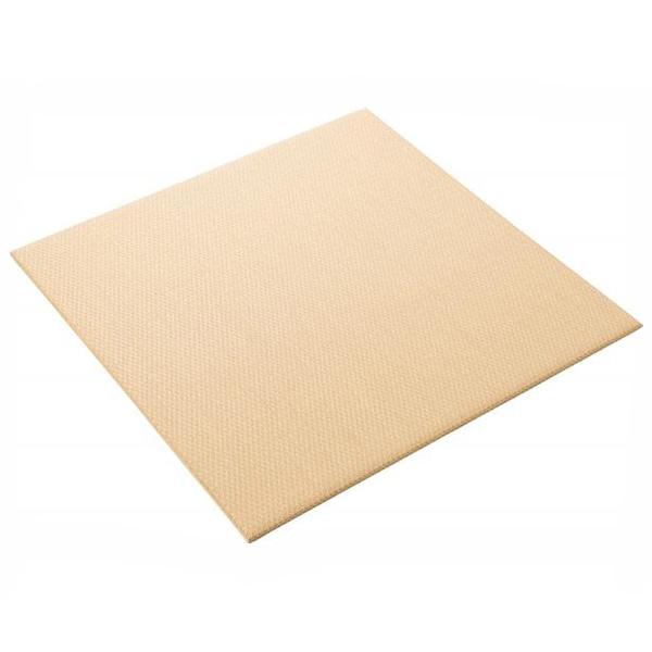 大建工業:ここち和座 小波 置き敷き畳15白茶色(2入) YQ5515-2