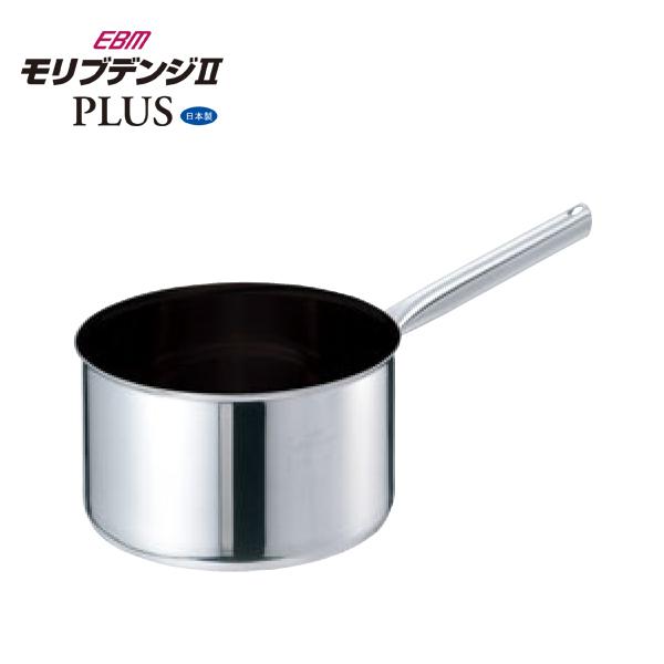 EBM:モリブデンジ2 プラス 深型 片手鍋 蓋無 8691010