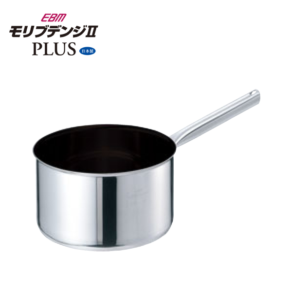 EBM:モリブデンジ2 プラス 深型 片手鍋 蓋無 8691210
