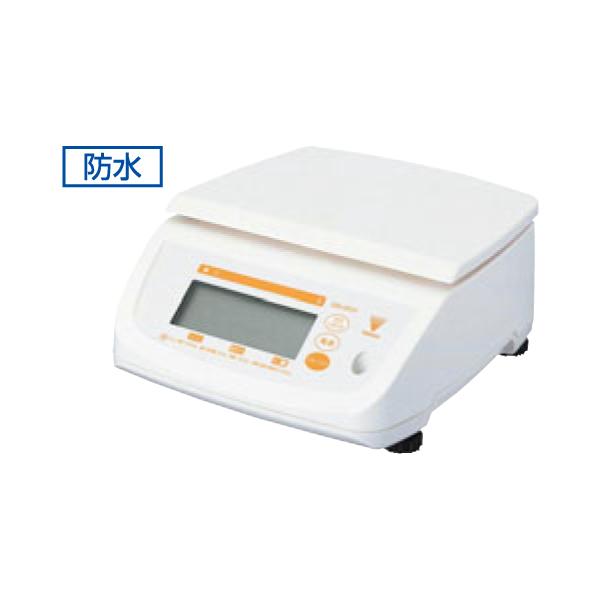 テラオカ:防水型 デジタルはかり テンポ DS-500 10kg 5502010