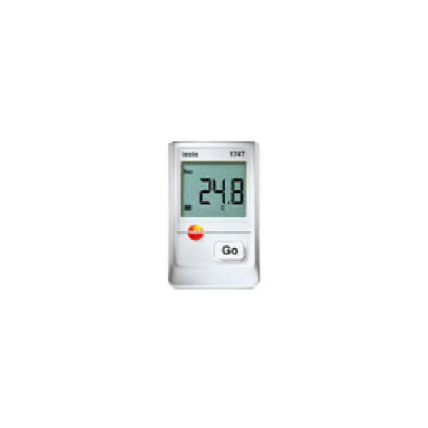 テストー:防水ミニ温度計データロガーセット testo 174T 0561 2869320