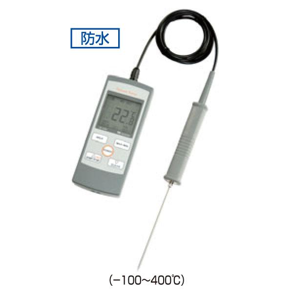 ハンディ型 白金デジタル温度計 プラチナサーモ SN-3400 0132300