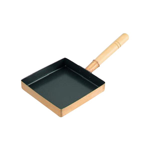 EBM:銅 玉子焼 関東型 (フッ素樹脂加工) 24cm 5624000