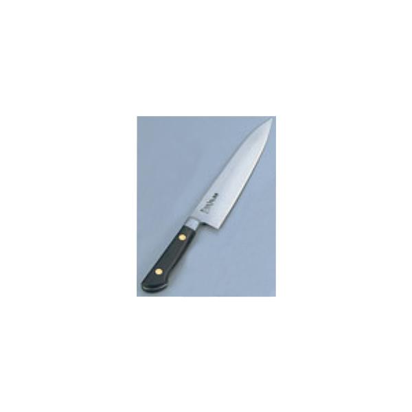 正本:ツバ付紫丹柄・最高級炭素鋼 牛刀 24cm 7929400