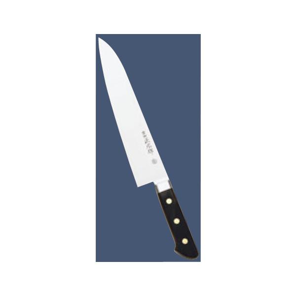 正広:ツバ付 日本鋼 左きき用 牛刀 24cm 3809450