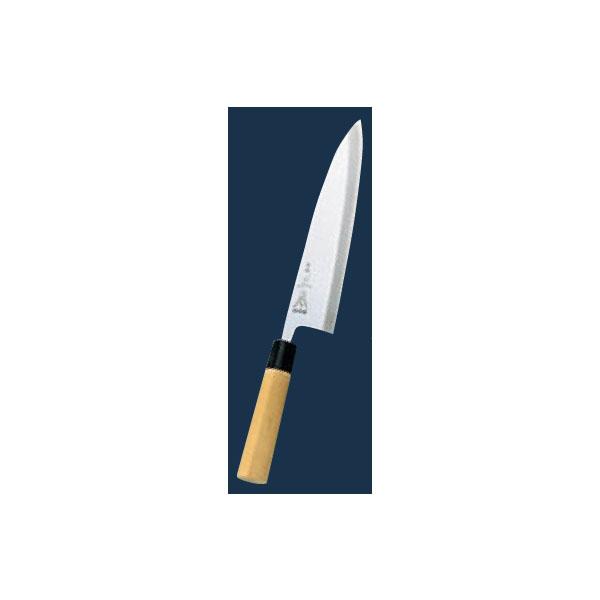 正本:本霞(玉白鋼) 相出刃 21cm 4578700