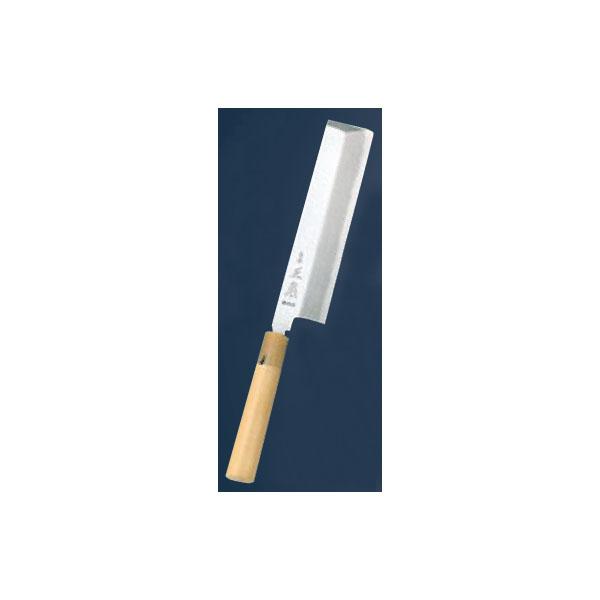 正本:本霞(玉白鋼) 東形薄刃 24cm 4580200