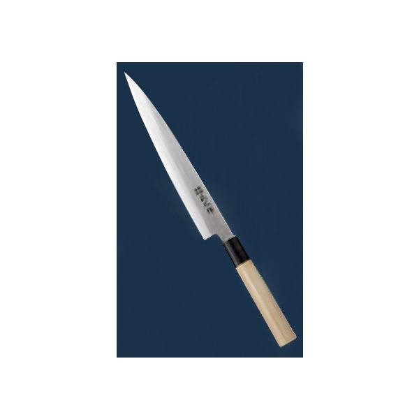 正広:正広作 ステンレス鋼 左きき用 柳刃 24cm 3809350