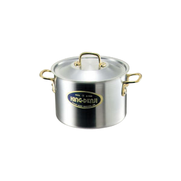キングデンジ:半寸胴鍋 (目盛付) 4821500