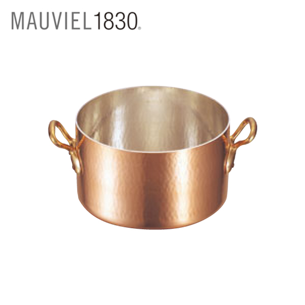 ムヴィエール:銅 半寸胴鍋 (蓋無) 2151 0150900