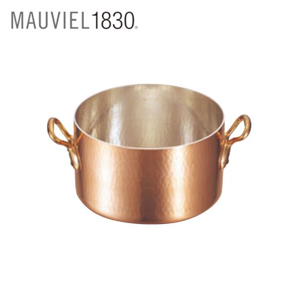 ムヴィエール:銅 半寸胴鍋 (蓋無) 2151 0151000