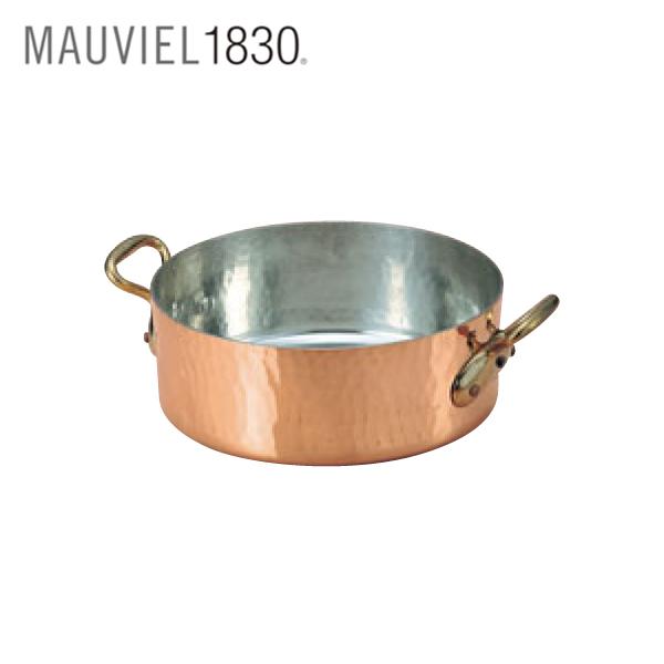 ムヴィエール:銅 平鍋 (蓋無) 2152 0152600