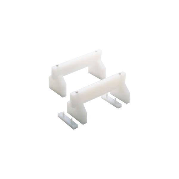 住友:プラスチック 高さ調整式 まな板用足 (2ヶ1組) H200 40cm 6856120
