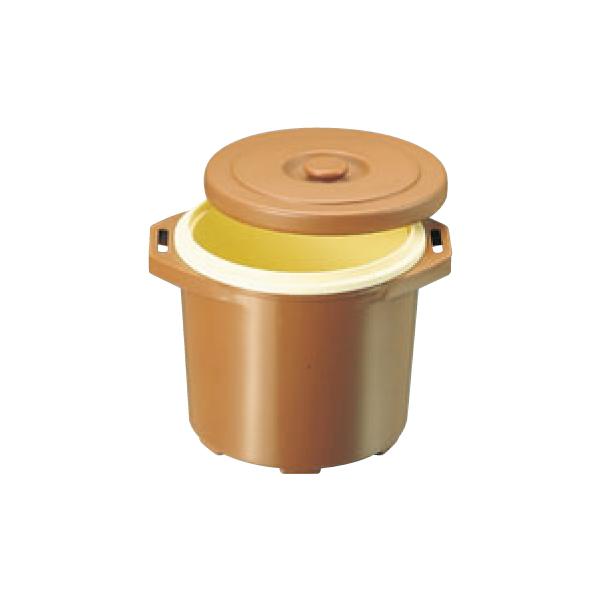プラスチック 保温食缶 ごはん用 DF-R1 大 2.5升 0821900
