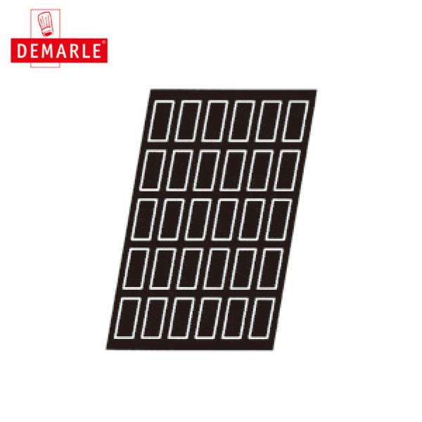 ドゥマール:フレキシパン 1536 フィナンシェ(長方形) 5436800