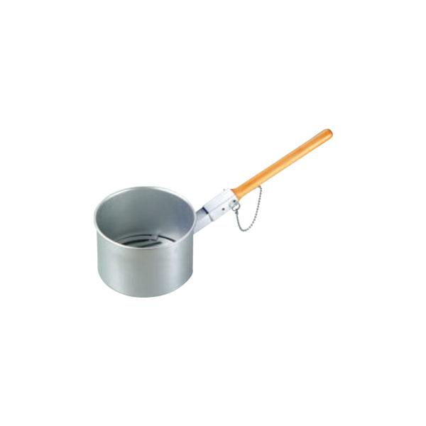鉄鋳物目皿付 ジャンボ火起し(木柄差込式) 大 8801200