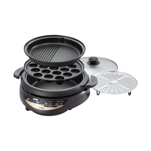 タイガー:グリル鍋 3枚タイプ CQG-B300T 2857560