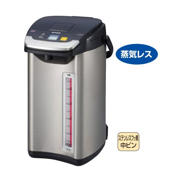 タイガー:蒸気レス VE電気まほうびん とく子さん PIE-A500(K) 2858410