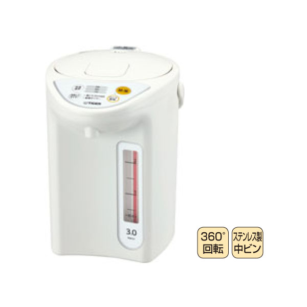 タイガー:マイコン電動ポット PDR-G401(W) 7438733