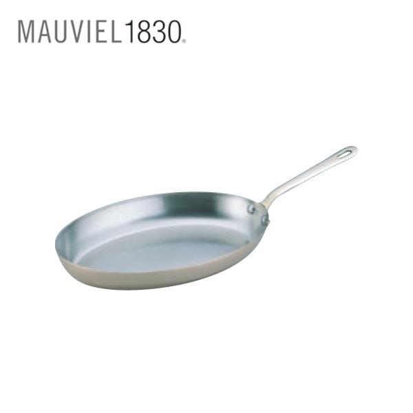 ムヴィエール:カパーイノックス オーバル フライパン 6525 6273610