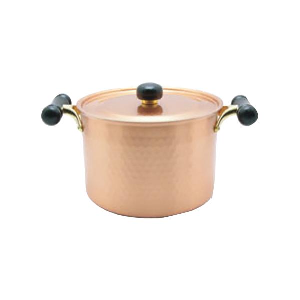 アンティック:銅IHアンティック深型鍋 IH-103 3111100
