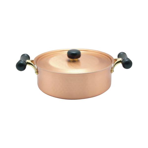 アンティック:銅IHアンティック浅型鍋 IH-104 3111200
