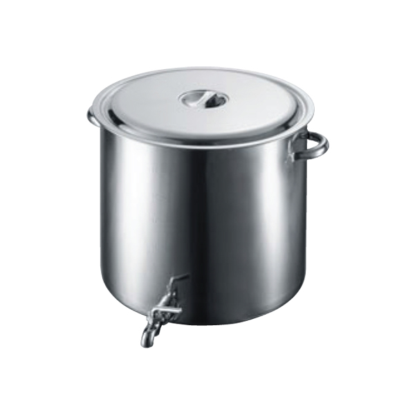 EBM:18-8 蛇口付 スープ寸胴鍋 3589100