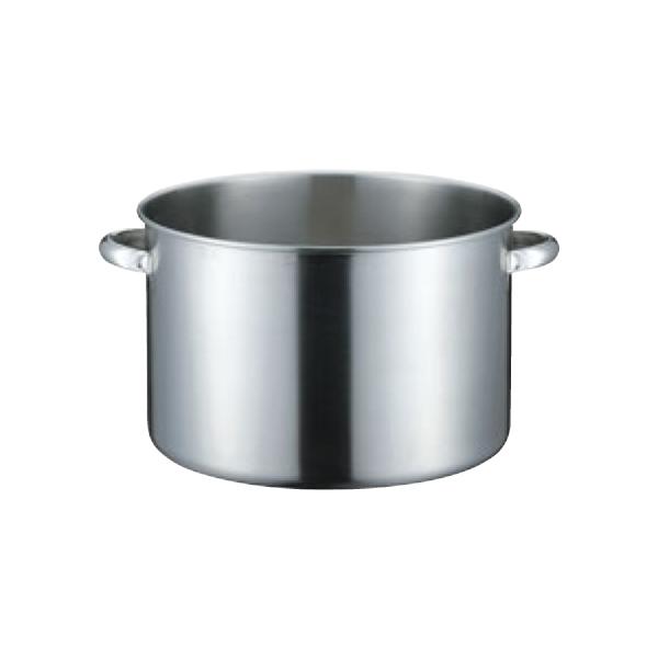 19-0 電磁対応 半寸胴鍋(蓋無)目盛付 8497370