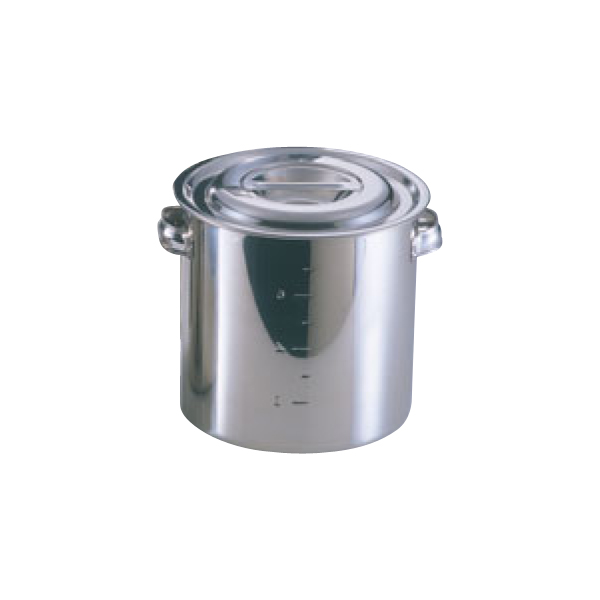EBM:モリブデン 寸胴鍋・キッチンポット (目盛付) 0001500