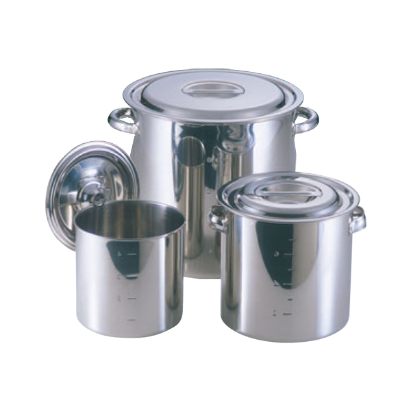 EBM:18-8 寸胴鍋・キッチンポット( 目盛付) 0004000