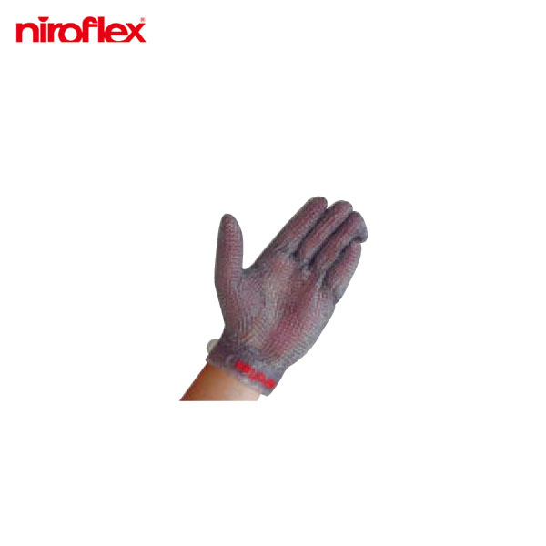 ニロフレックス:メッシュ手袋 プラスチックベルト付(1枚)左手用 M 0247900