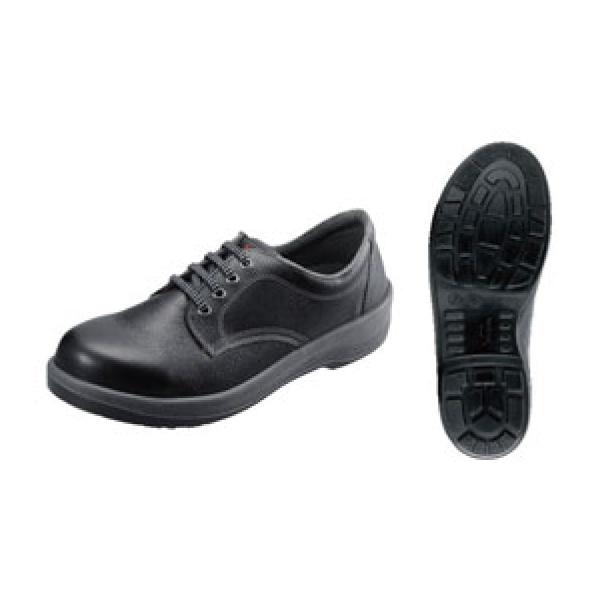 シモン:安全靴 7511 黒 30cm 6776300