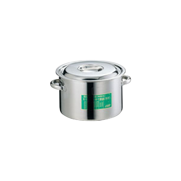 EBM:モリブデン 半寸胴鍋 (目盛付) 0003000