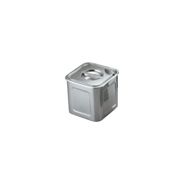 UK 18-8 角型 キッチンポット 0032400