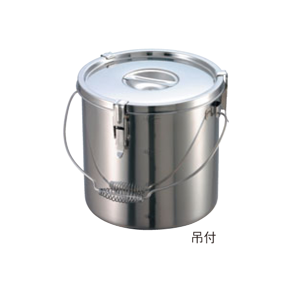 EBM:18-8 パッキン寸胴鍋 (目盛付) 吊付 0047700