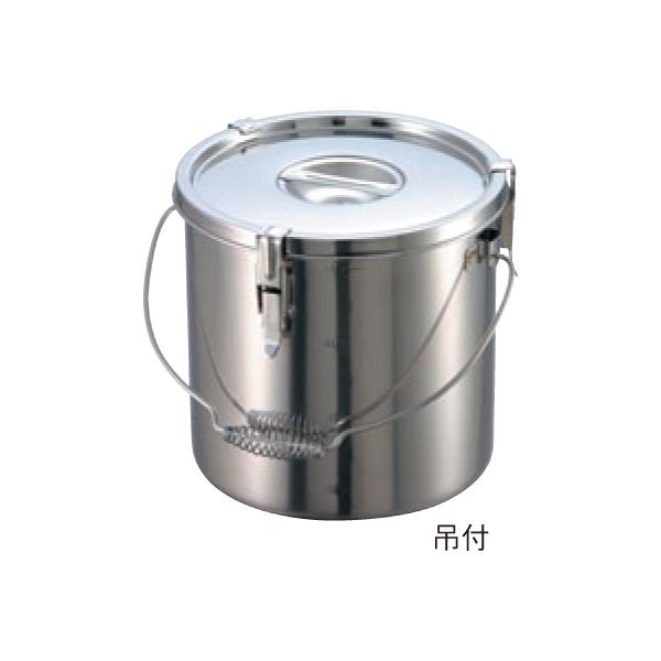 EBM:18-8 パッキン寸胴鍋 (目盛付) 吊付 0047800