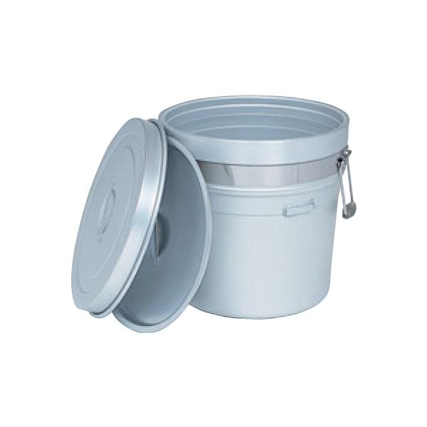 アルマイト 段付二重食缶 (大量用) 250-S 1129750