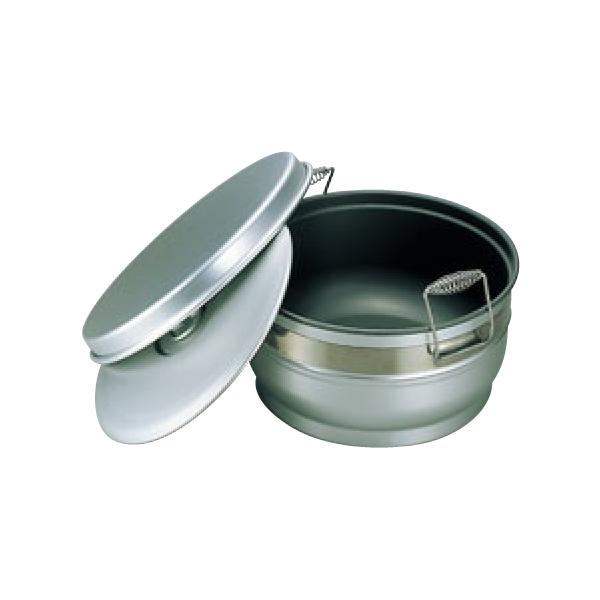 アルマイト スミフロン 二重 食缶(お枢型) 264-B 6704600