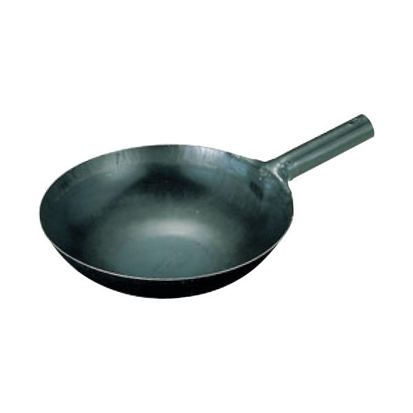 山田:鉄 打出中華片手鍋(1.2mm) 0194200