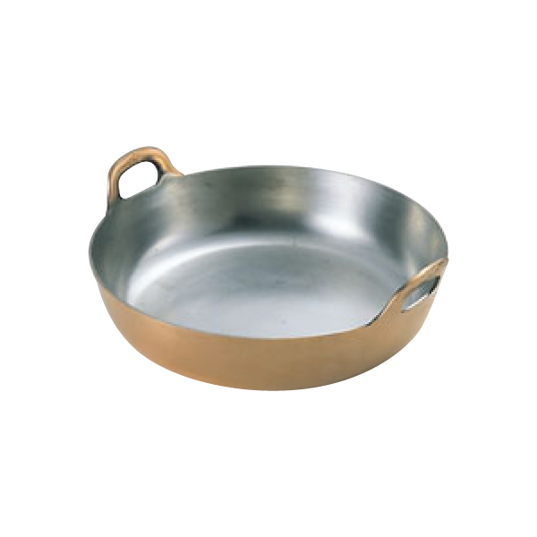EBM:銅 プレス 揚鍋 0226400